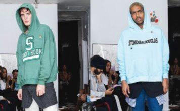 Fashion brand faces backlash for school shooting-themed sweatshirts. (Credit: CBS News)