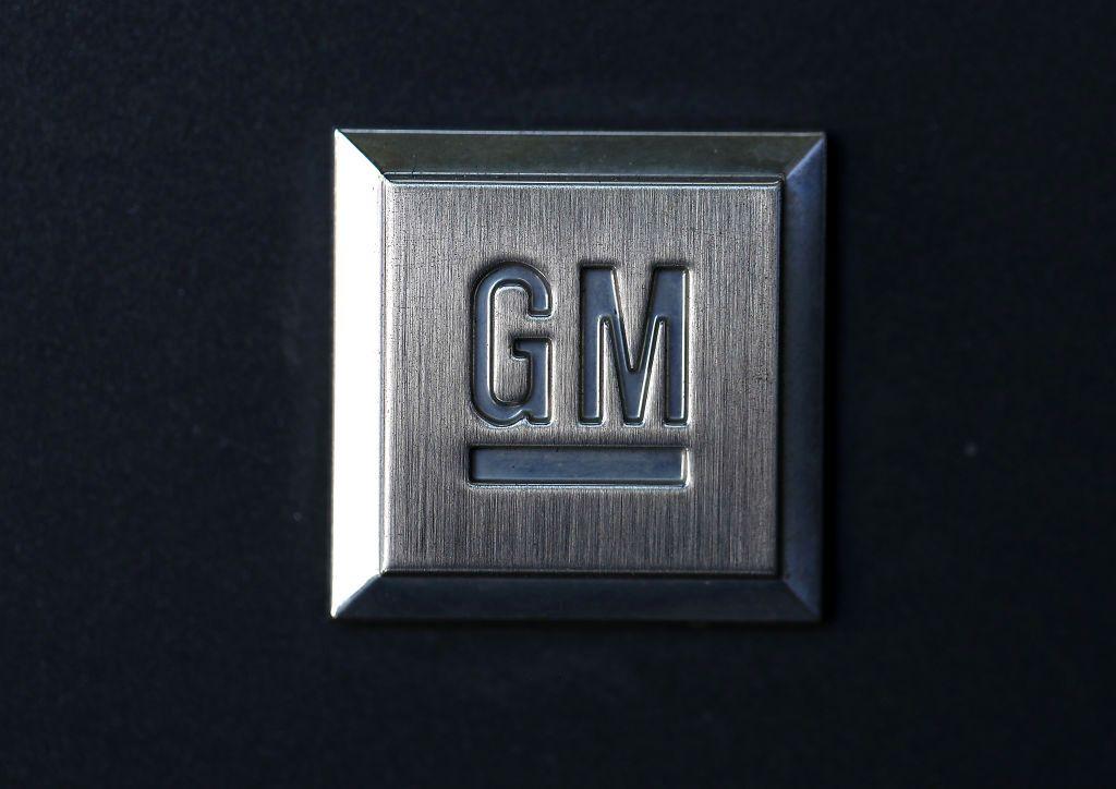 General Motors logo. (Credit: CBS Miami)