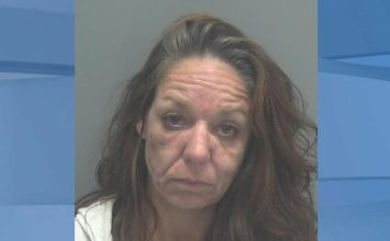 Mugshot of Stasia Lynn Bolitho, 43. (Credit: Lee County Sheriff's Office)