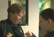 Officer Donna Aiossa-McNally. (Credit: WINK News)