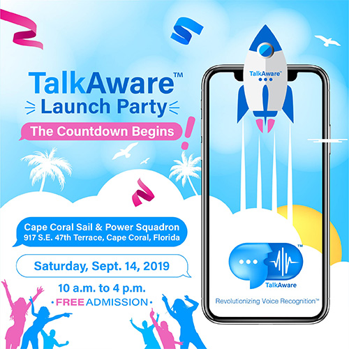 TalkAware™ Launch Party: The Countdown Begins
