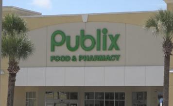 Publix storefront. (Credit: AP)
