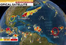Tropical Satellite. (Credit WINK News)