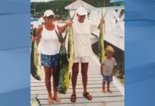 The family at their former home of the Abaco Islands, Bahamas (Family provided photo)