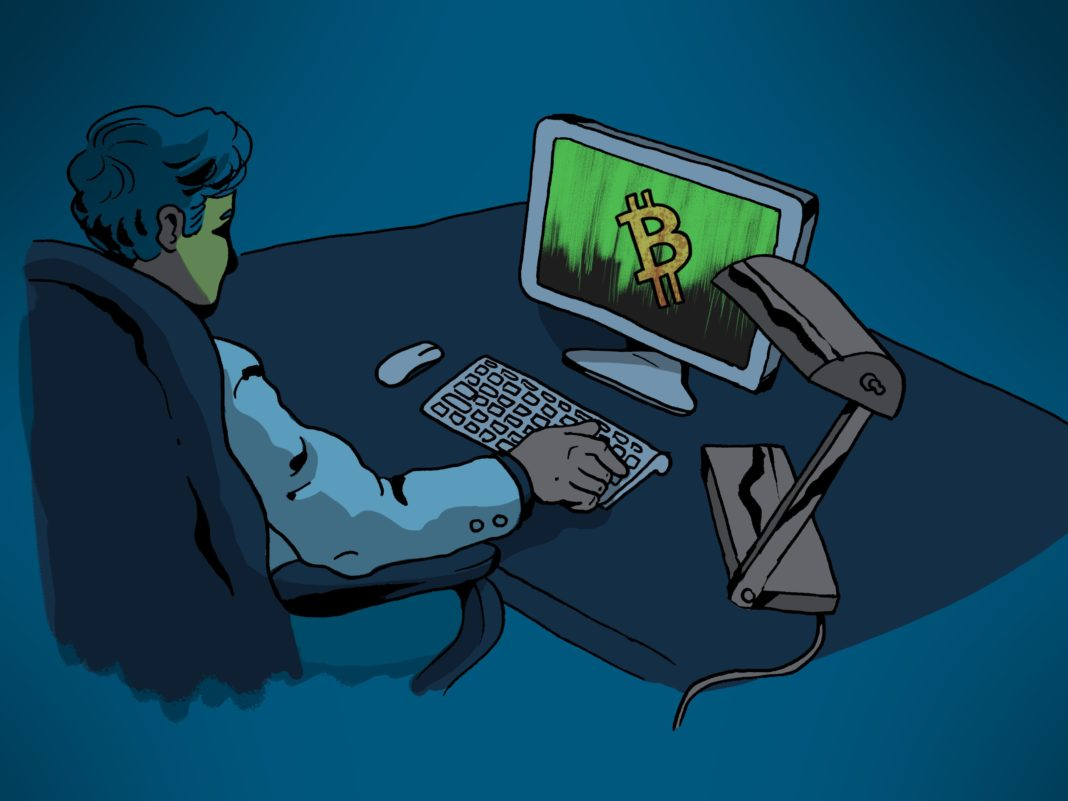The United States' Department of Justice (DOJ) revealed how it had followed a trail of bitcoin transactions to find the suspected administrator of the site: A 23-year-old South Korean man named Jong Woo Son. (Credit: CNN illustration)