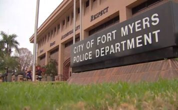 Fort Myers Police Department headquarters. (Credit: WINK News)