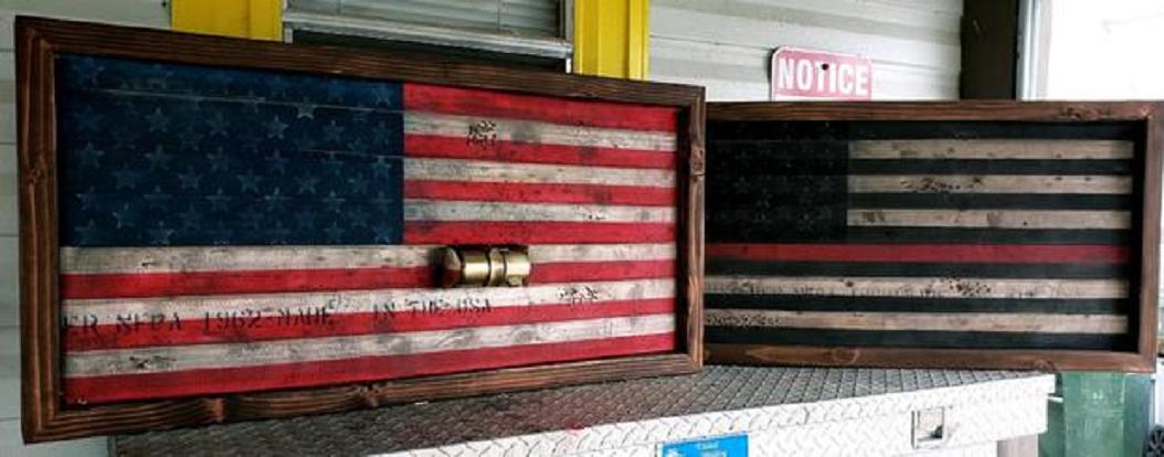 Artwork by Florida firefighter Daryl Paul.(Credit: Daryl Paul via CBS News)