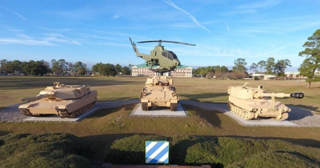 Fort Stewart in Savannah, Georgia. (Credit: CBS News)