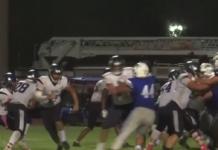 High school football game. (Credit: WINK News)