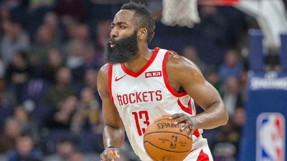 Houston Rockets star James Harden. (Credit: CBS Sports)
