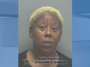 Mugshot of Michelle Ashley, 42. (Credit: Lee County Sheriff's Office)