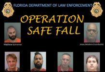 Florida Dept. of Law Enforcement's Operation Safe Fail graphic. (Credit: FDLE)