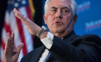 The lawsuit accuses Rex Tillerson, Exxon's CEO between 2006 and 2017, of knowingly ignoring the alleged fraud. (Credit: CBS News)