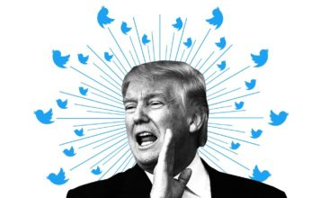 """Twitter plans to place a disclaimer on future tweets from world leaders that break its rules but which Twitter decides are in the """"public interest,"""" the company said in a blog post. (Credit: CNN)"""