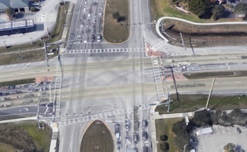 Site of the crash in North Fort Myers. (Credit: Google Maps)
