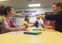 Students with special needs find 'Best Buddies' through SWFL schools program. (Credit: WINK News/Melinda Lee)