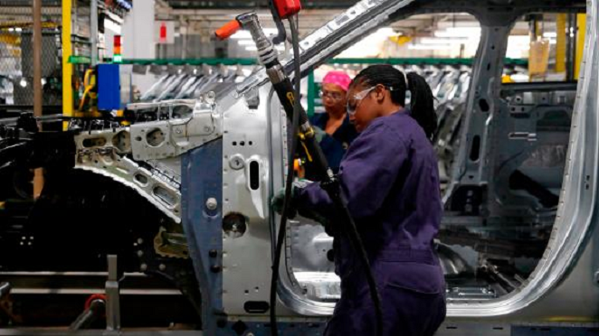The manufacturing sector suffered its worst month since June 2009. (Credit: CNN)