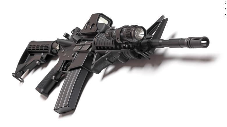 AR 15. (Credit: CNN via Shutterstock)
