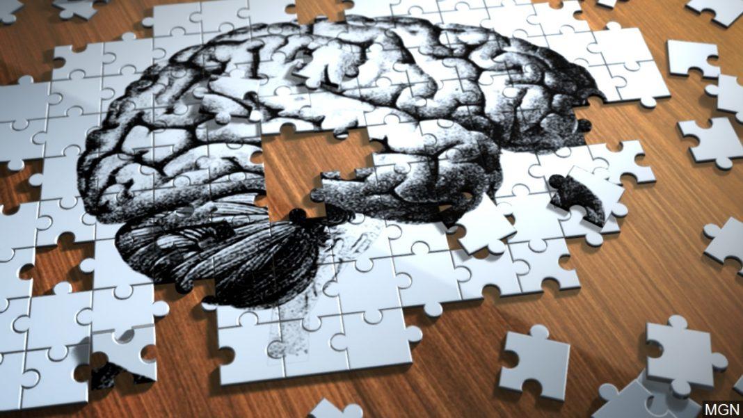 Alzheimer's disease illustration. (Credit: MGN)