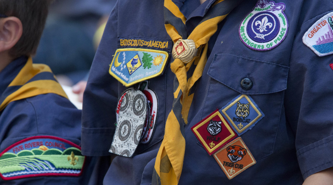 Boy Scouts of America. (Credit: AP)