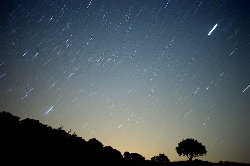 Meteor Shower. (Credit: CBS New York)