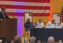 Panel discusses improving the lives of veterans. (Credit: WINK News)