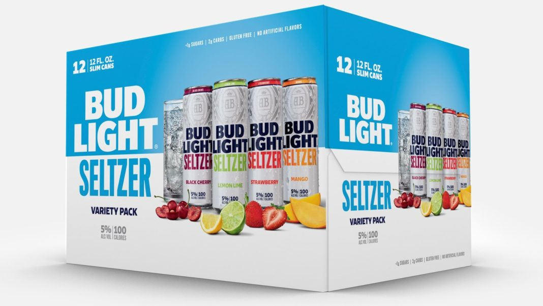 Bud Light Seltzer is joining the battle for spiked seltzer supremacy. (Credit: Anheuser-Busch)