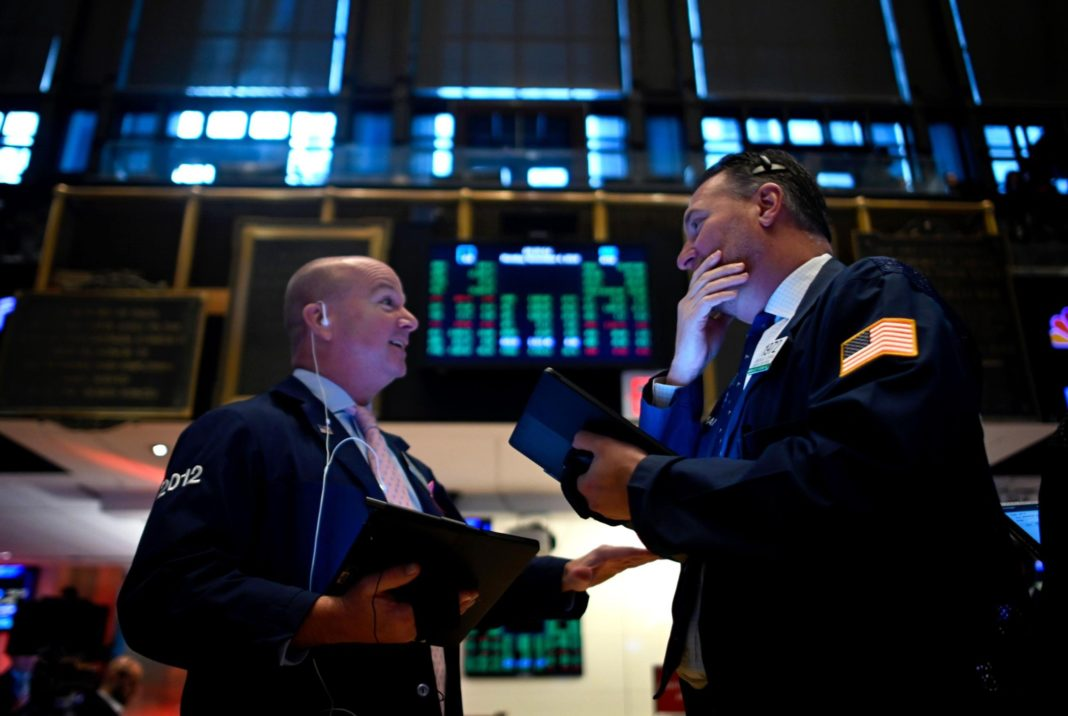 It could be another record-breaking day in the US stock market, after a Chinese official said that Washington and Beijing have discussed rolling back tariffs. (Credit: Johnnes Eisele/AFP/Getty Images)