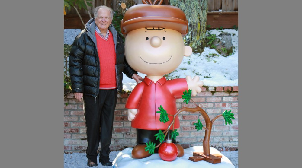 his 2015 photo provided by Jason Mendelson shows Lee Mendelson in Hillsborough, Calif. Lee Mendelson, the producer who changed the face of the holidays when he brought
