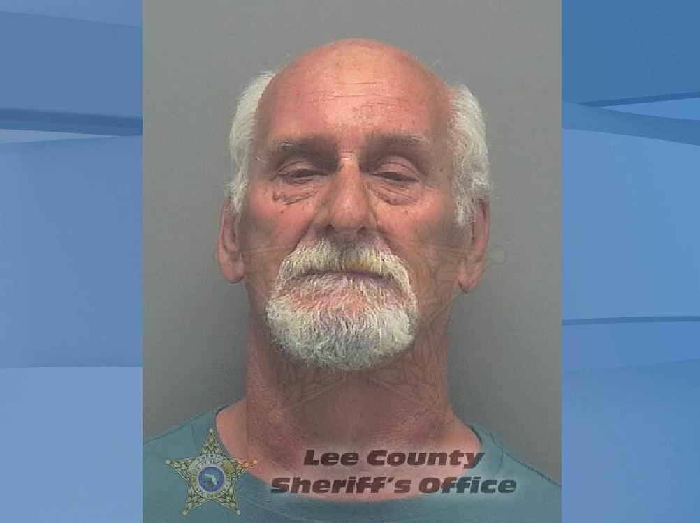 Mugshot of Henry Harvey, 69. (Credit: Lee County Sheriff's Office)