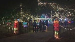 One Lee County couple, Tammy and David Mcquademake, is inspiring people by donating money to view their spectacular Christmas display this holiday season to a young boy with cancer. (Credit: WINK News)