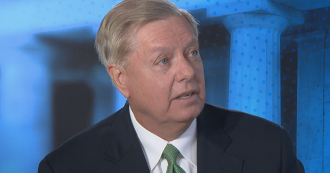 Sen. Lindsey Graham. (Credit: Face the Nation)