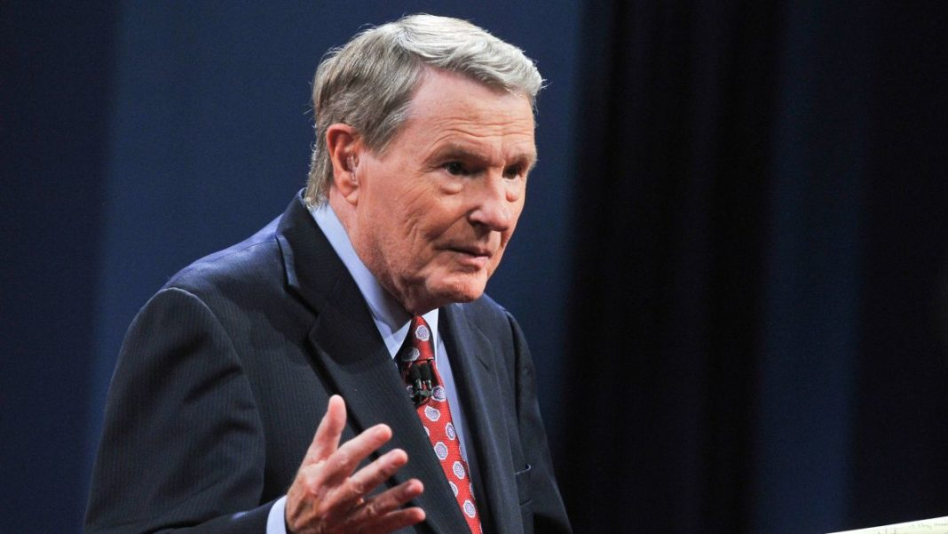 Jim Lehrer, the legendary debate moderator and former anchor of the