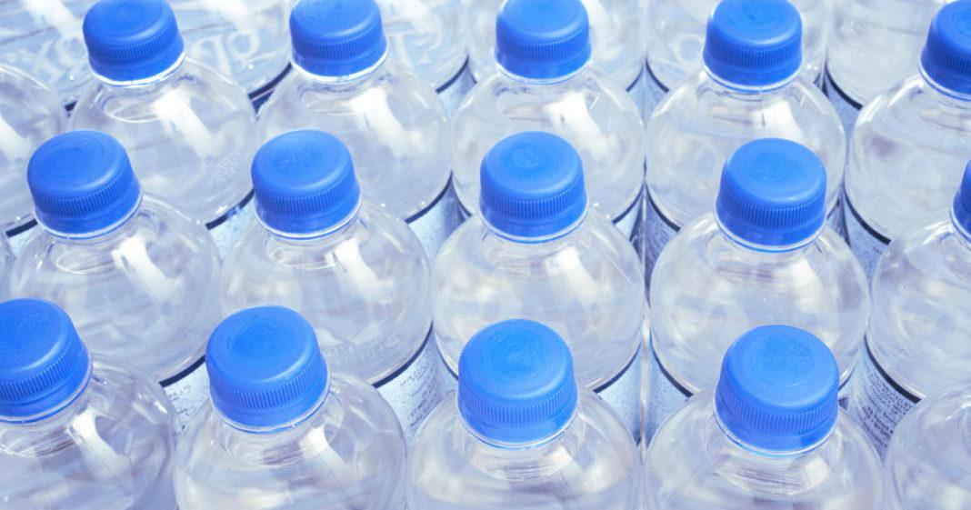 Water bottles. (Credit: CBS News)