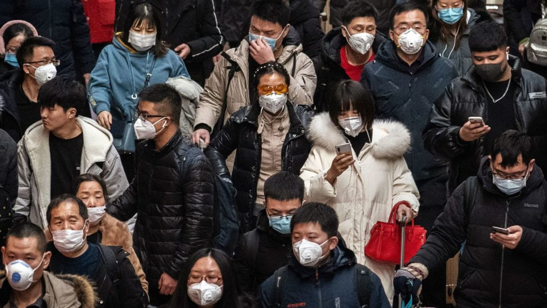 The virus appeared in the Chinese city of Wuhan last month and has since infected hundreds of people around the world, including three confirmed cases in the United States. The death toll in China has risen to more than 50. (Credit: CNN)