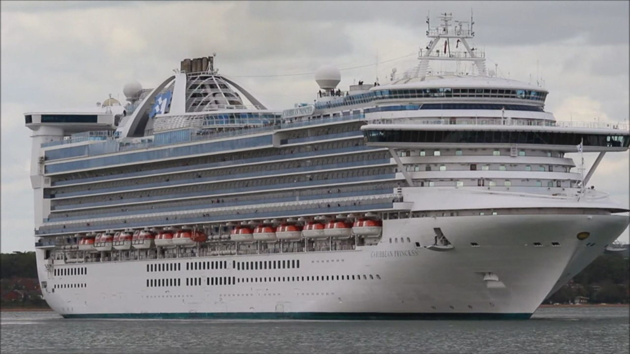 Carnival's Princess Cruise Liner. (Credit: CBS News)