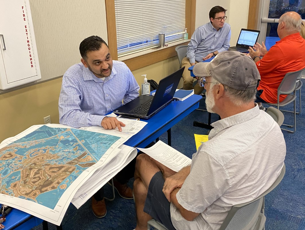 Residents and property owners in coastal areas of Collier County can view new draft preliminary Flood Insurance Rate Maps (FIRMs) at three upcoming public open houses on March 2-3. (Credit FEMA)