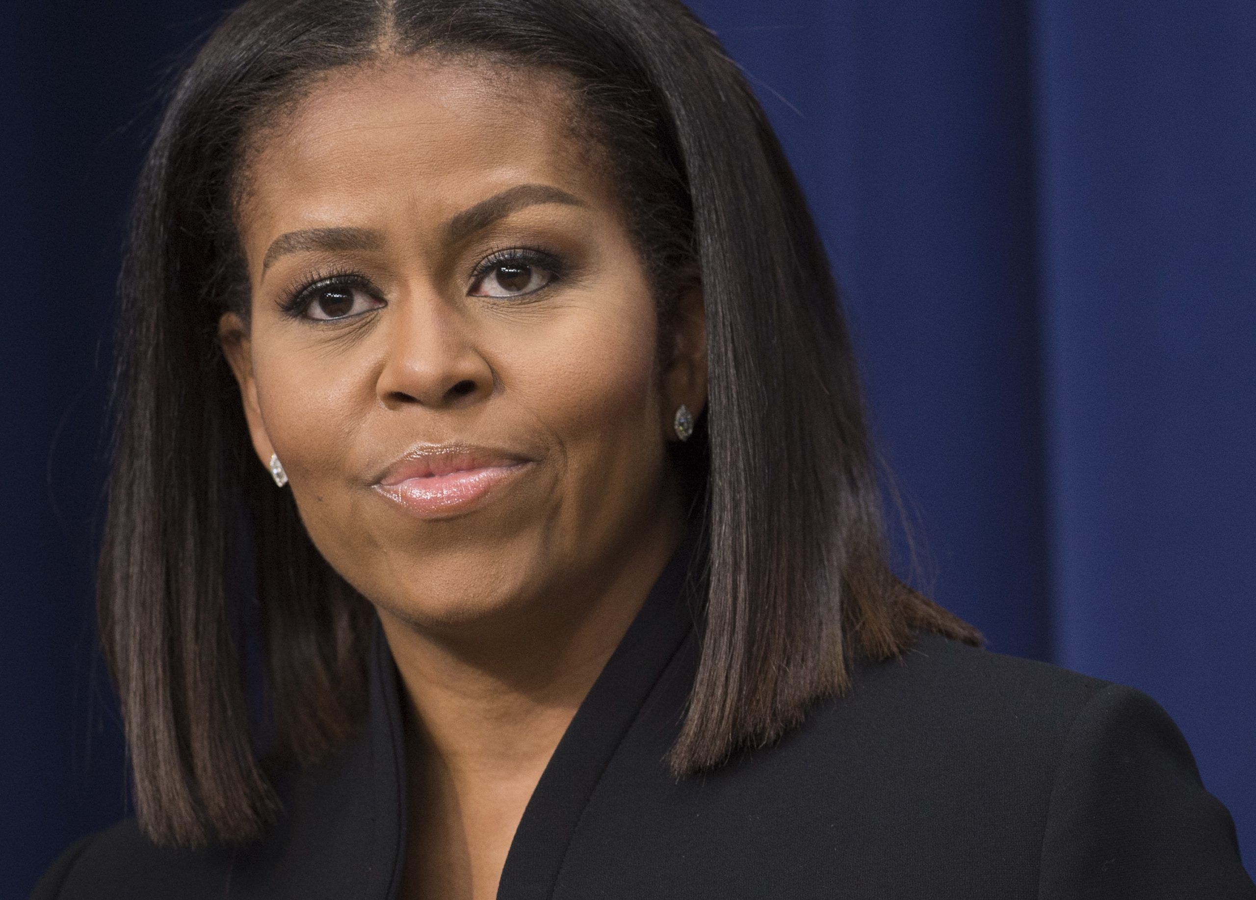 Michelle Obama: It's up to everyone to root out racism