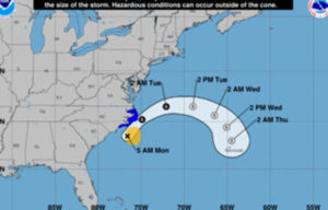 Tropical Storm Arthur to bring life-threatening surf and ...
