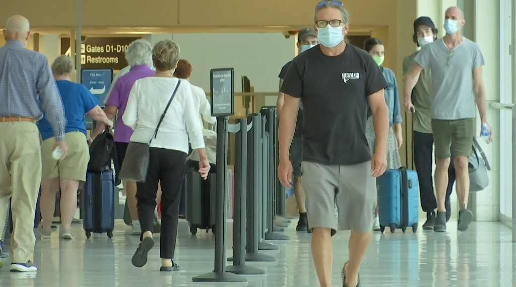 Southwest Florida Int'l Airport reports slight increase in passengers