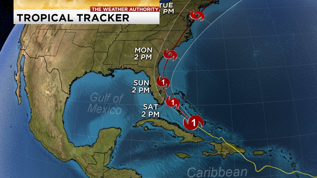 Hurricane Isaias Continues Trek Toward Florida S East Coast