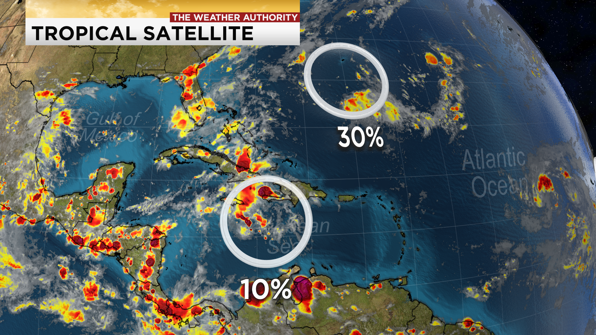 Watching three disturbances in the Atlantic Basin; one in ...Hurricane Sally Path