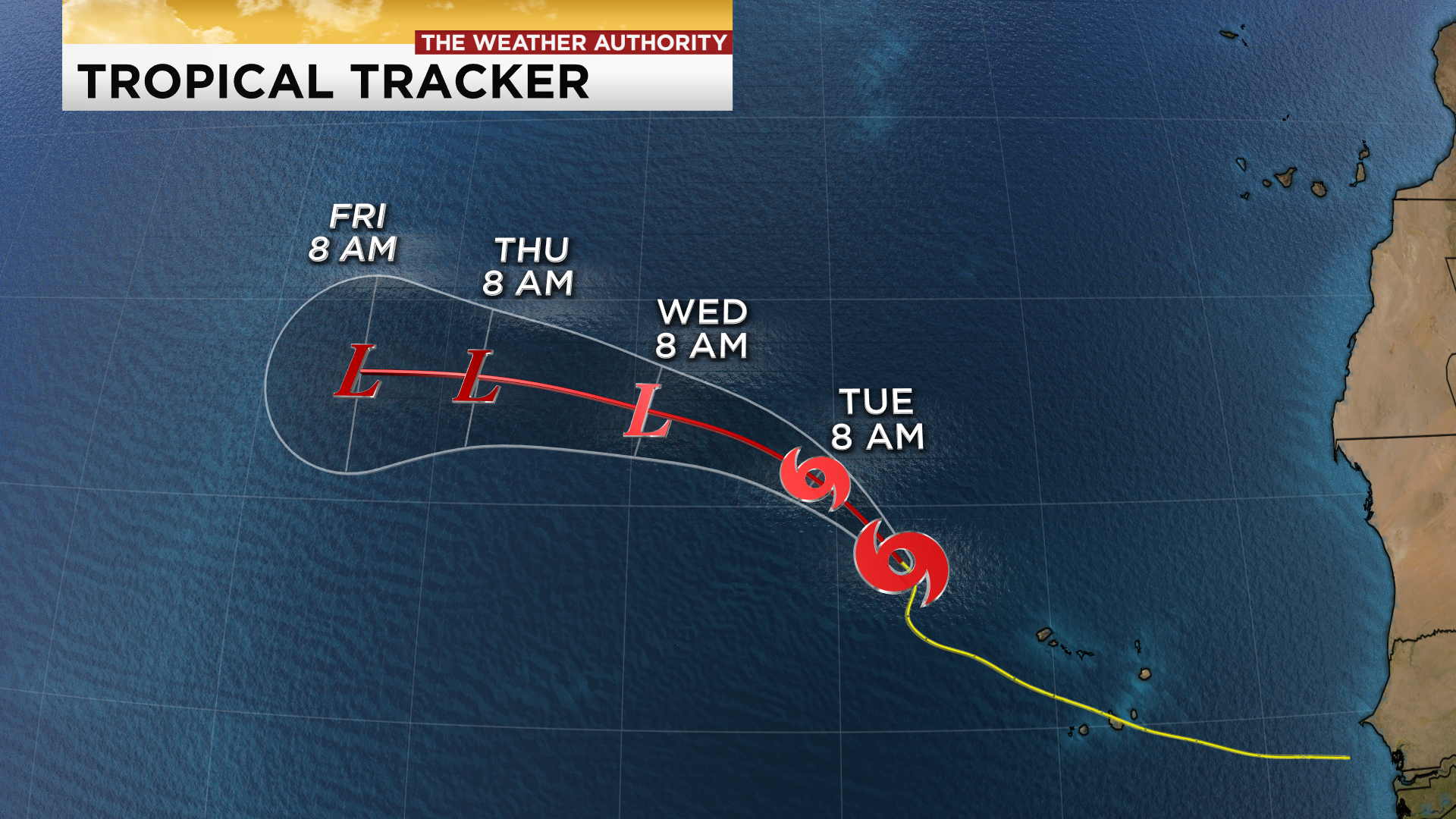 Tropical Storm Vicky becomes 20th named storm of 2020 ... Hurricane Sally Tracker Today