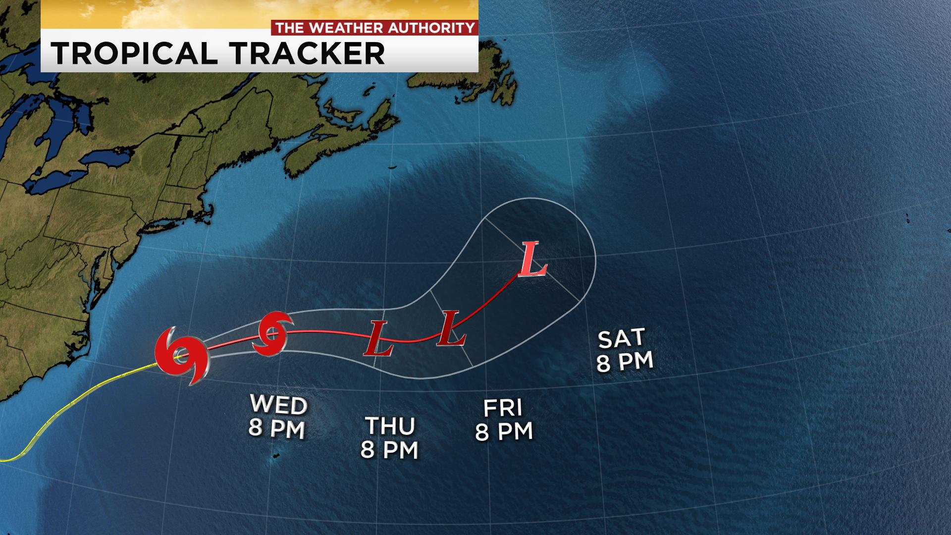 Tracking Tropical Storm Nana And Omar