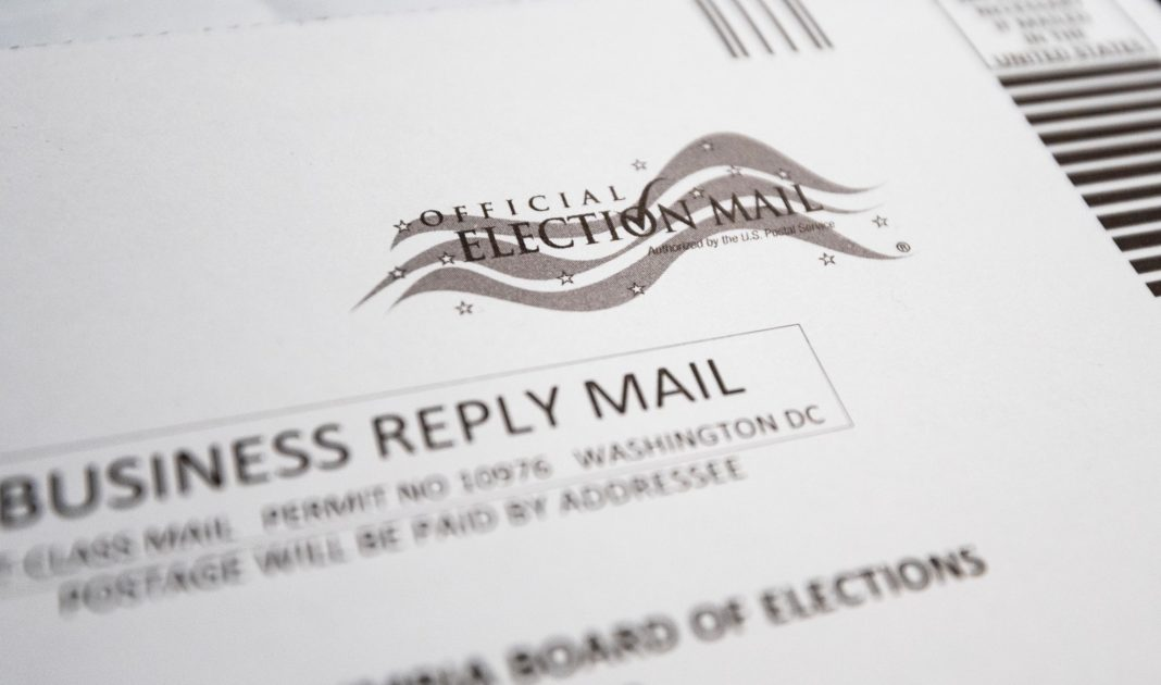 mail in ballot