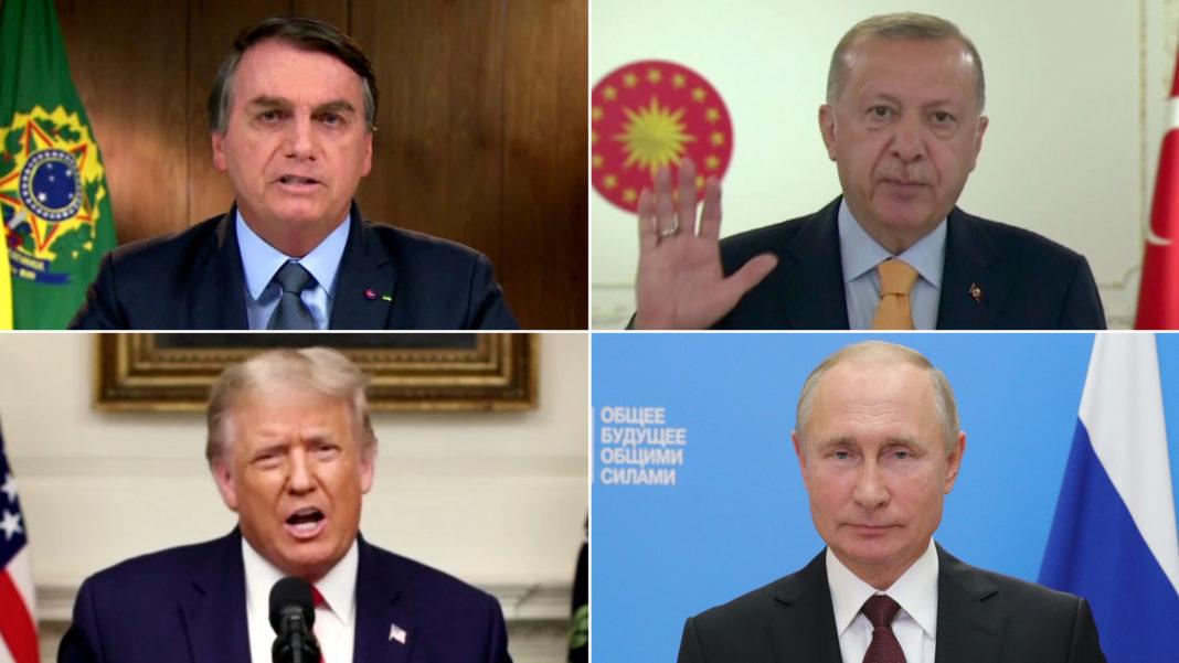 Bolsonaro Erdogan Trump Putin