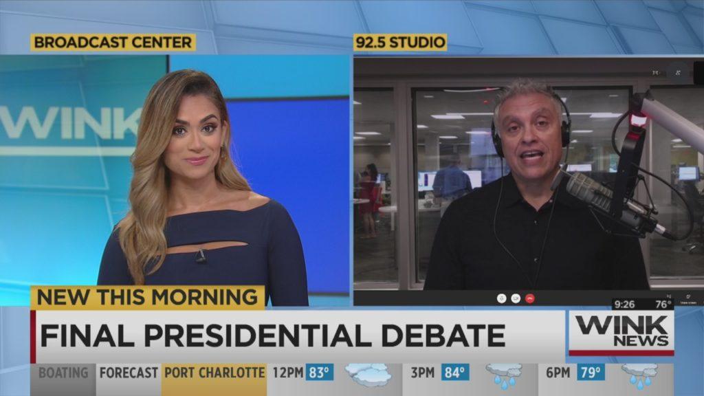 Drew Steele: Rules for the final presidential debate