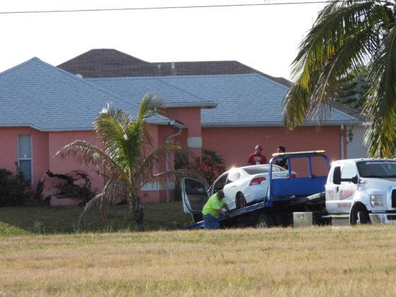cape car into house
