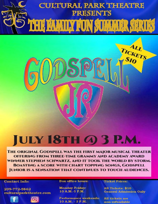 Cultural Park Theater Continues The 2021 Family Fun Summer Series
