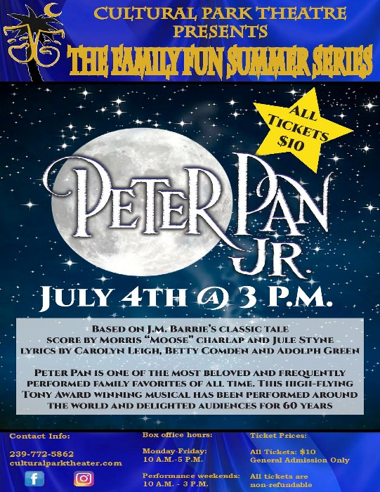 Cultural Park Theater Opens The 2021 Family Fun Summer Series